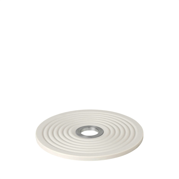Oolong Silcone Round Trivet - Moonbeam