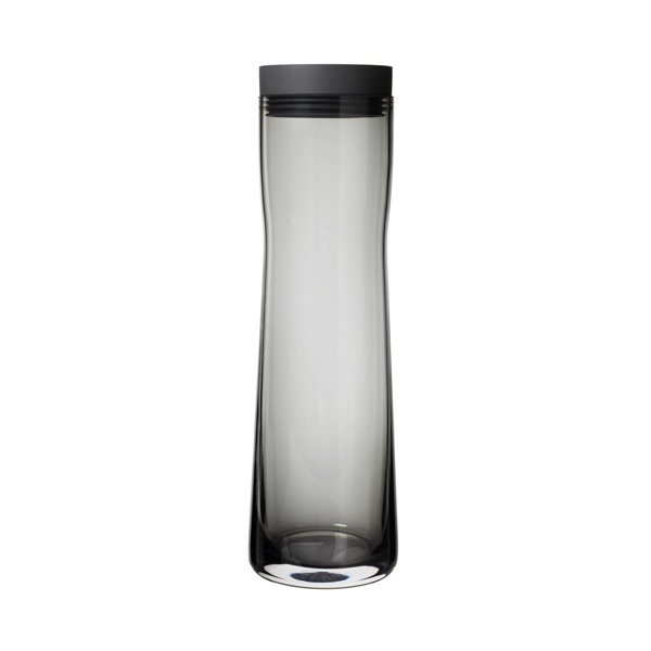 Splash Water Carafe Smoked Glass 1 Liter 34 Oz
