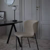 Saw Marble Desk Rounded